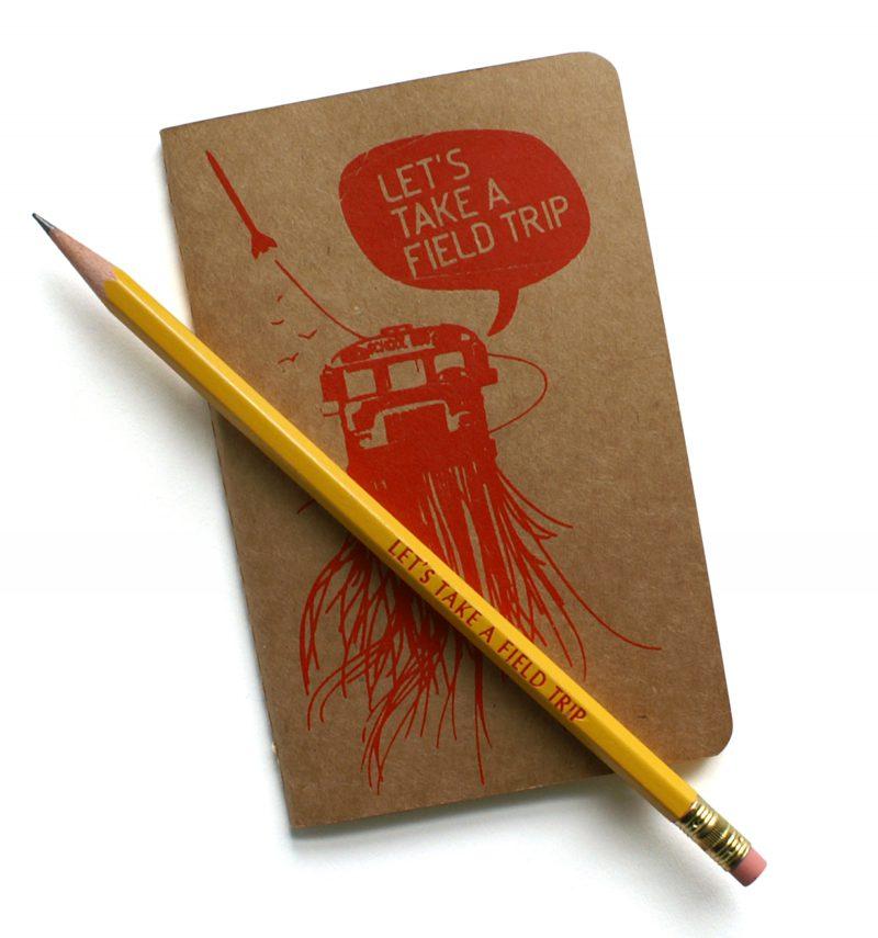 Impactist_FieldTrip_book_pencil